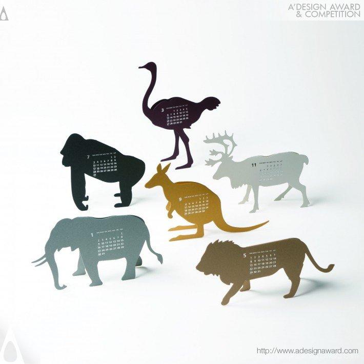 Good Morning Original Calendar 2011-Safari (Calendar Design)