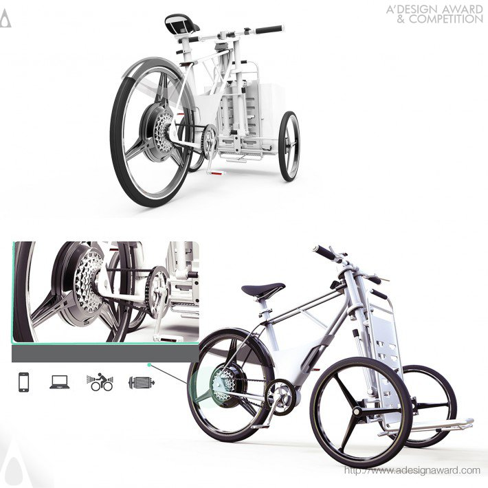 Cargob Urban Eco-Bicycle (Two in One Eco-Bike Design)