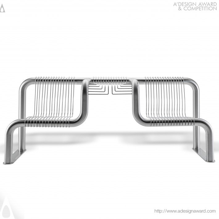 Bench For Blm Group (Outdoor Seating Design)