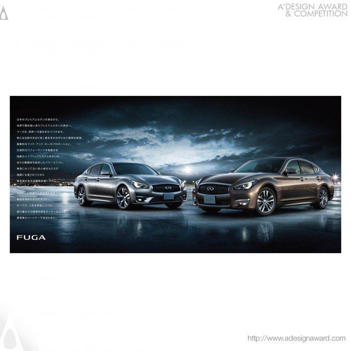 Nissan Fuga (Brochure Design)
