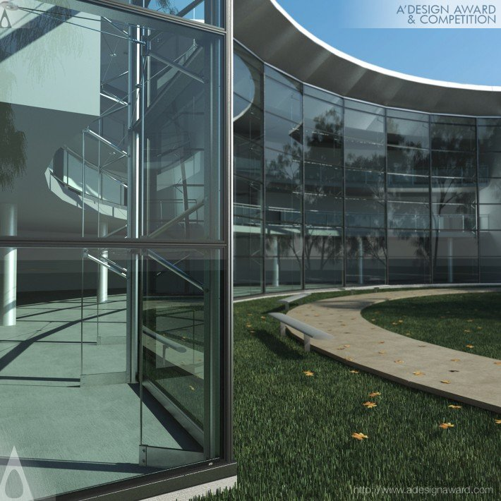 Glasswave (Multiaxial Curtain Wall System Design)