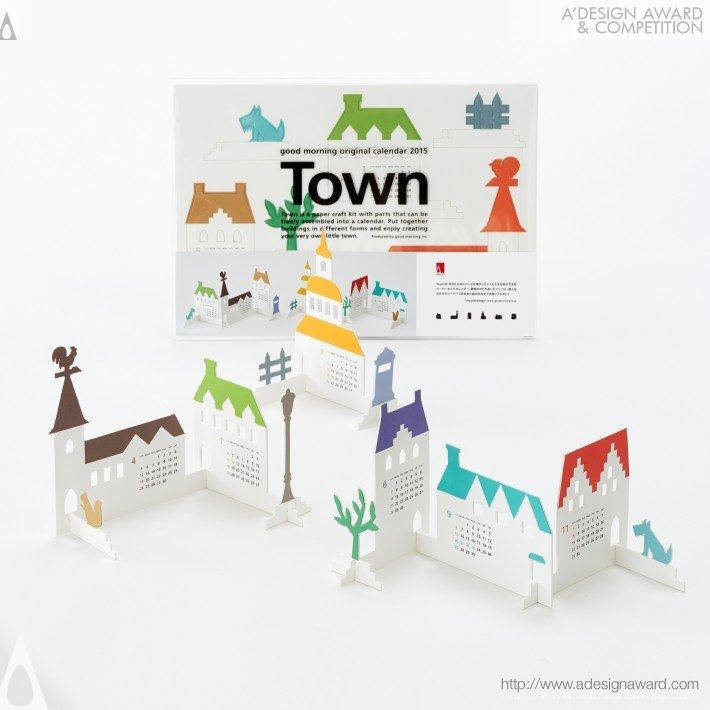 "Calendar 2015 ""town"" (Calendar Design)"
