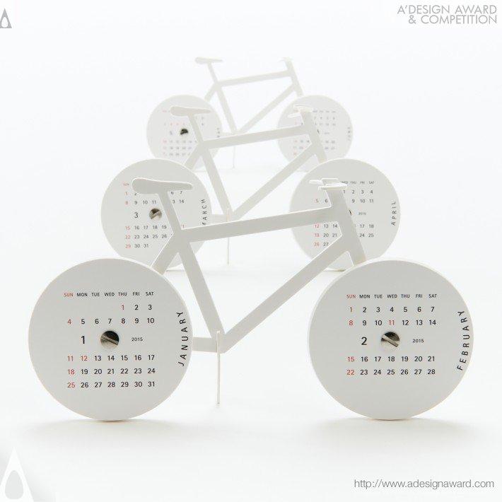 "Calendar 2015 ""bike"" (Calendar Design)"
