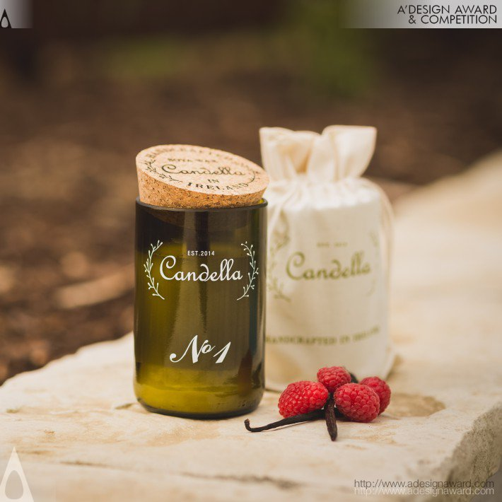 Candella (Handcrafted Scented Candle Design)
