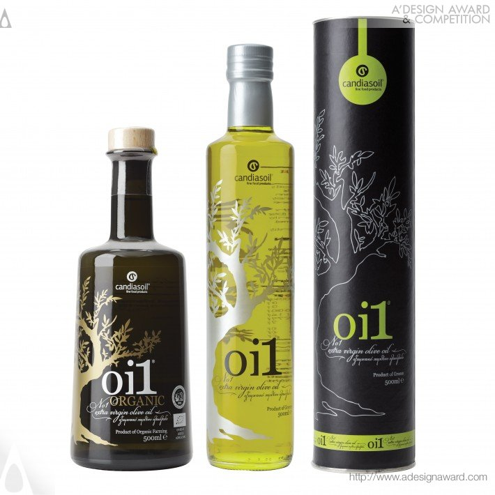 Oi1 For Candiasoil (Olive Oil Packaging Design Design)