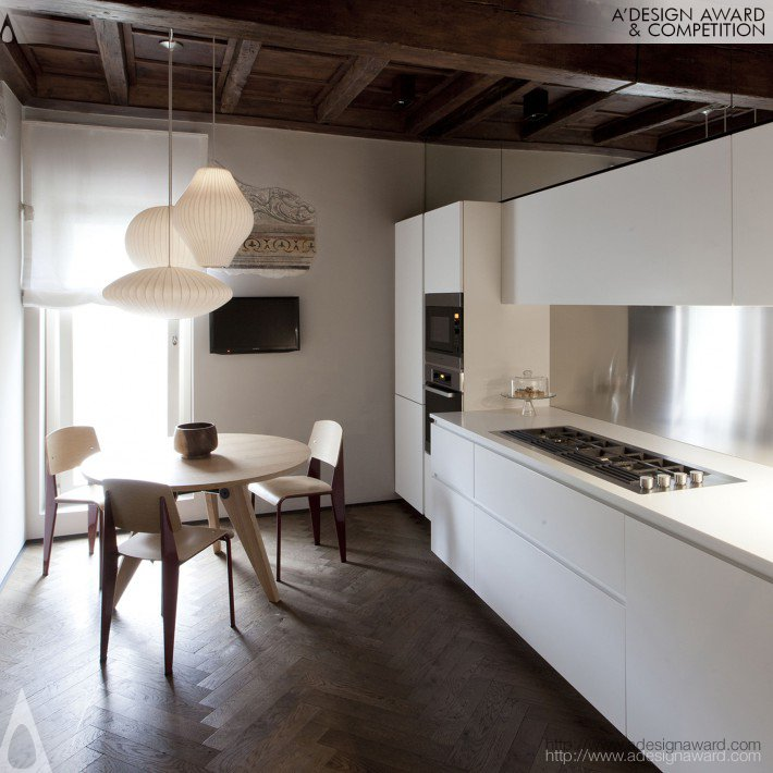 Davide Cerini - Mantova a New Life From Past to Design Residential Private House