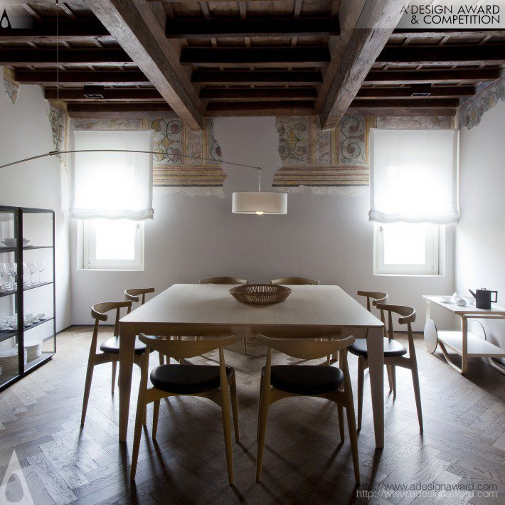 Mantova a New Life From Past to Design Residential Private House by Davide Cerini