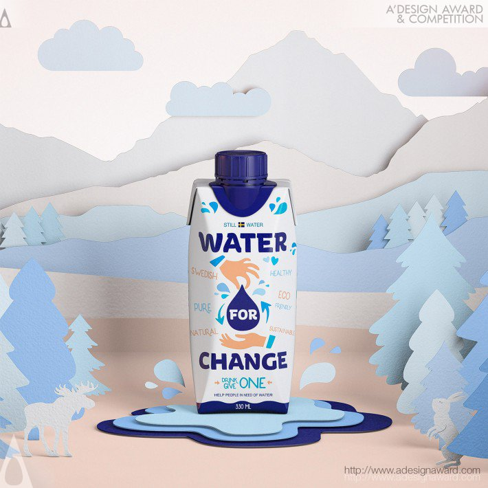 Water For Change (Packaging Design)