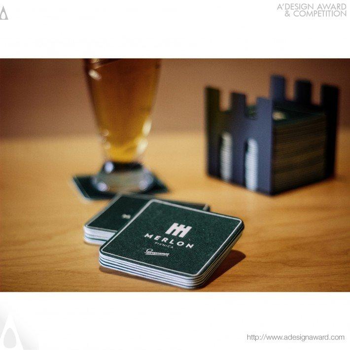 Merlon Pub (Identity, Branding Design)