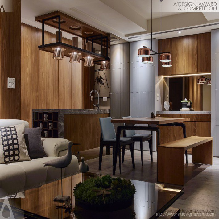 Residential Apartment by Chuang Hsiao Cheng