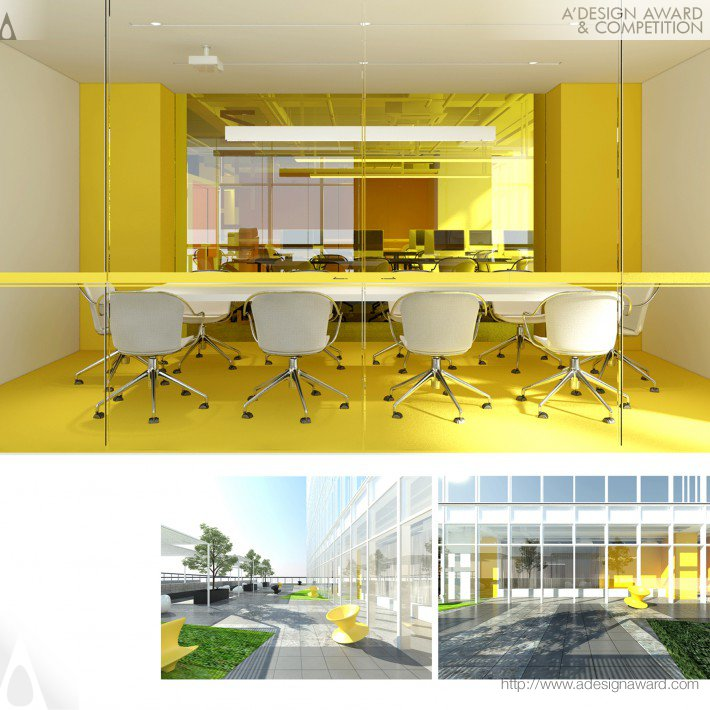 Simple Intelligent Space (Office Design)