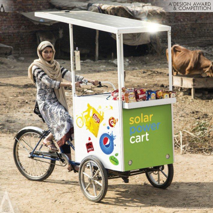 Pepsi Solar Cart (Vending Cart Solar Cooler Design)