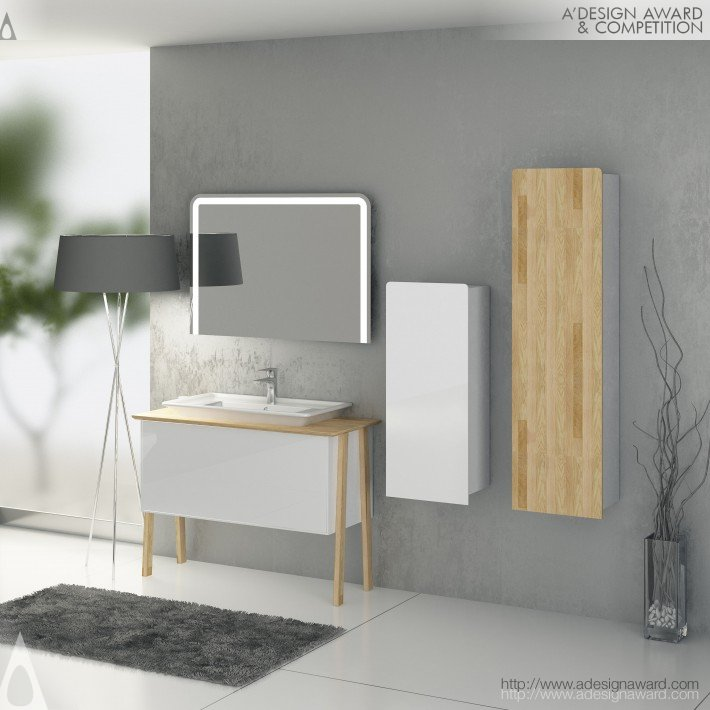 A Design Award And Competition Eleganza Bathroom Furniture Press Kit