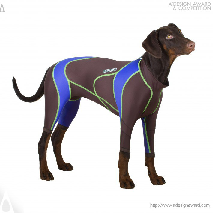 Lymed Dog (Canine Pressure Garment Design)