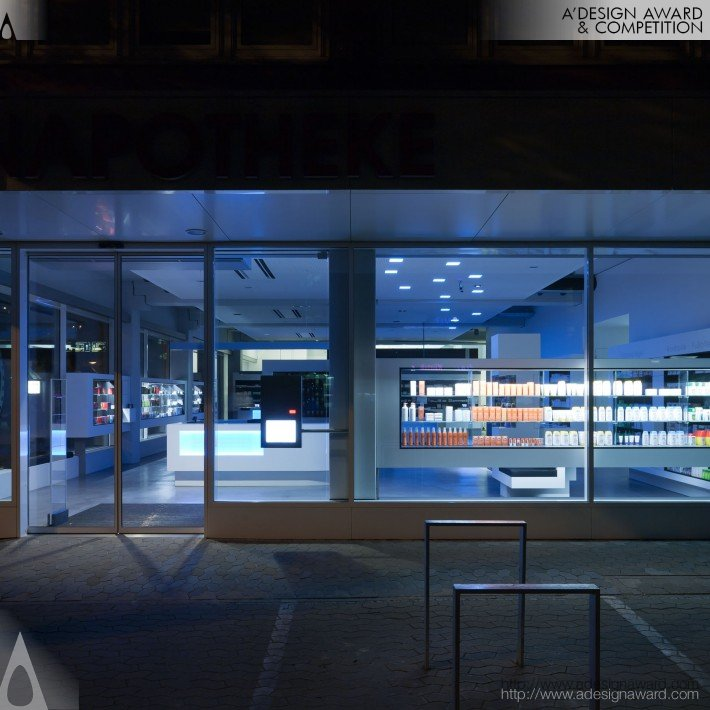 Jordan Apotheke (Indoor Lighting Design)