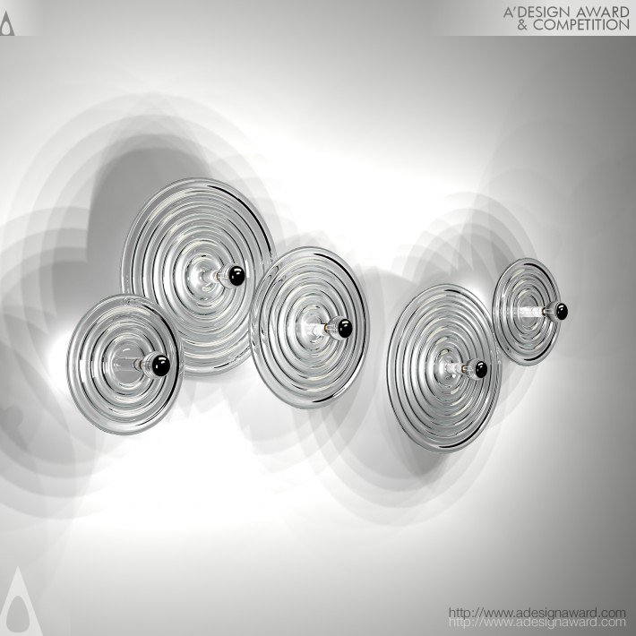 Ripple (Wall Lamp Design)