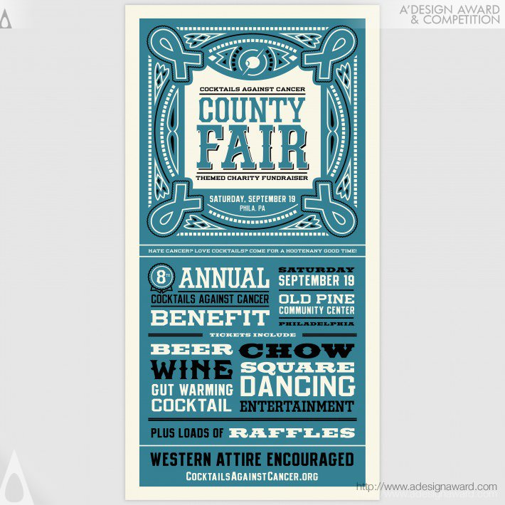 County Fair Charity Fundraiser (Poster Design)
