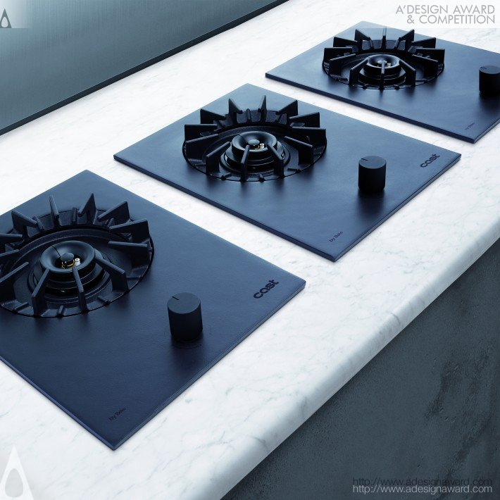 Cast (Built-in Single Gas Hob Design)