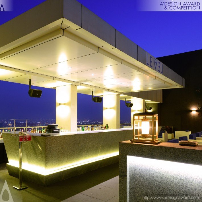 Level 12 (Rooftop Restaurant and Lounge Design)