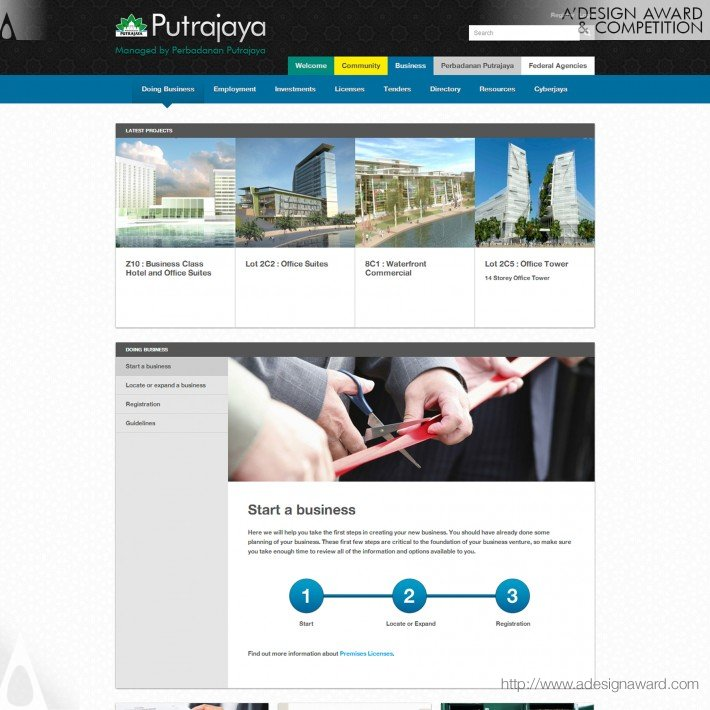 Perbadana Putrajaya Portal by World Wide Web Domination