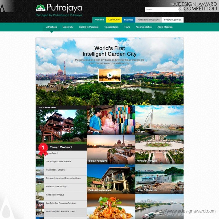 Perbadana Putrajaya Portal Website by World Wide Web Domination