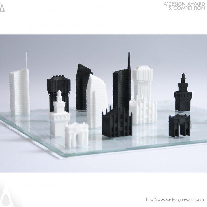 Milan Chess Set (Chess Game Design)