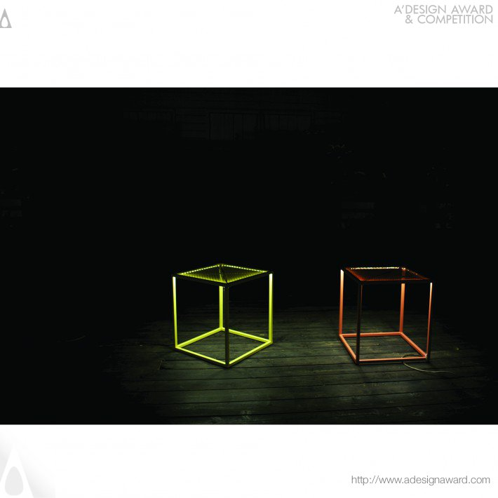 Outdoor Lighting Versatile Furniture by Alice Tedesco