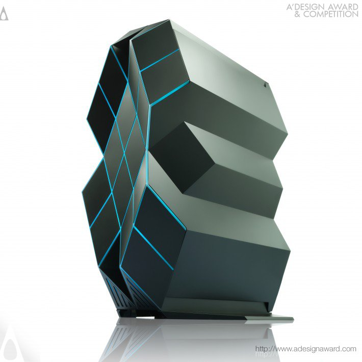 Prism Desktop Gaming Computer by Han Xin