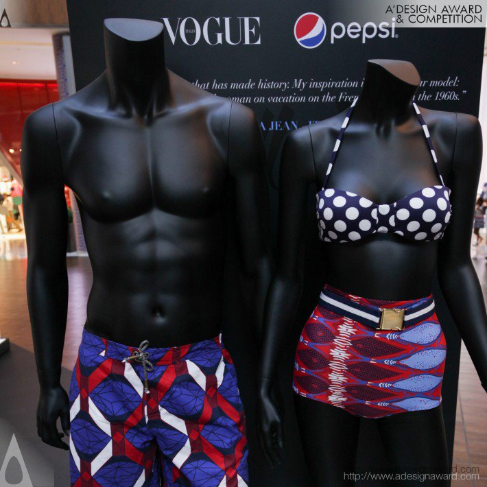 The Pulse of New Talent (Fashion Showcase Design)