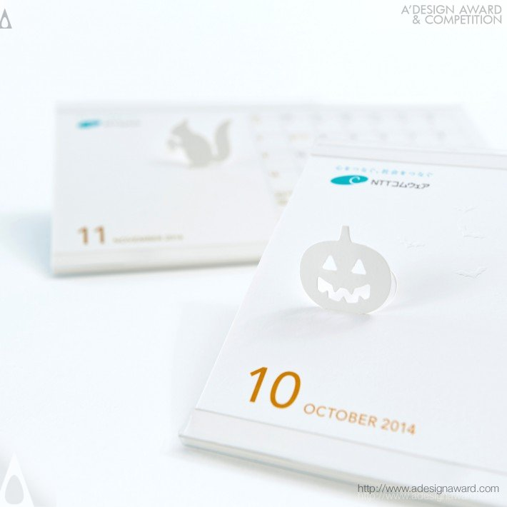 "Ntt Comware ""season Display"" (Calendar Design)"