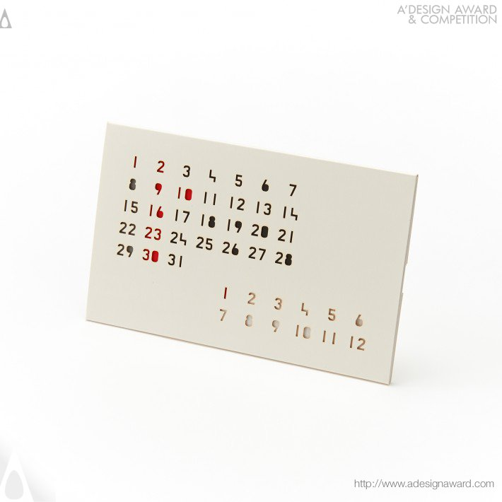 "Calendar  ""color Cartridge"" (Calendar Design)"