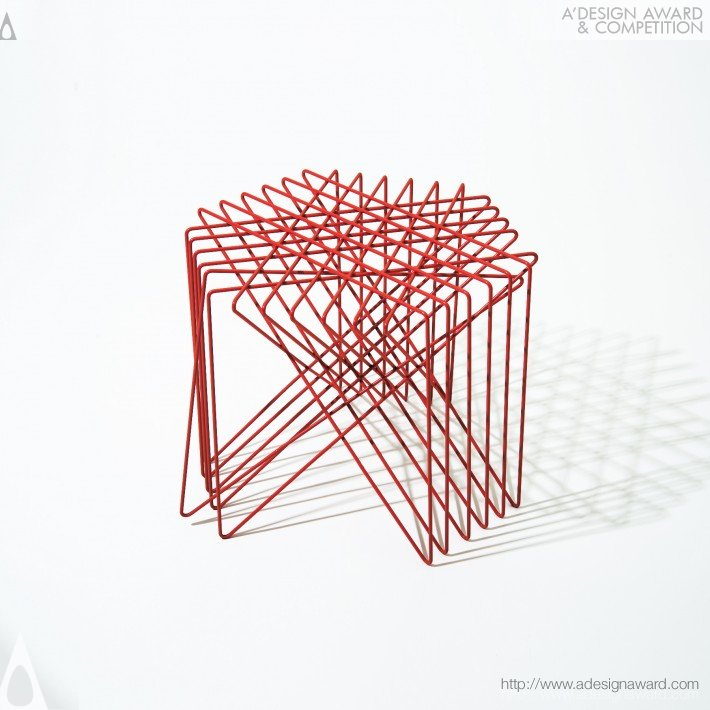 Kagome (Stool Design)