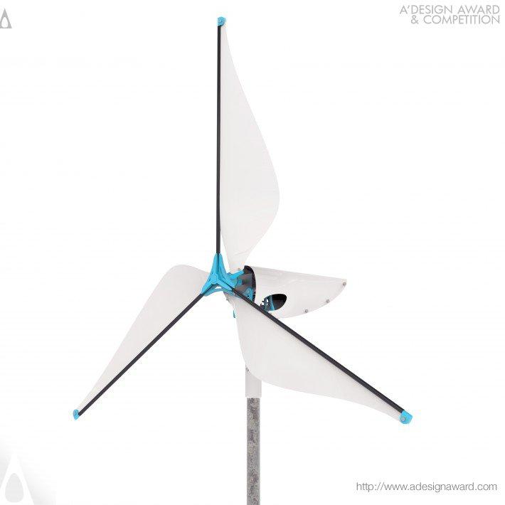 Wireframe (Affordable Wind Turbine Design)