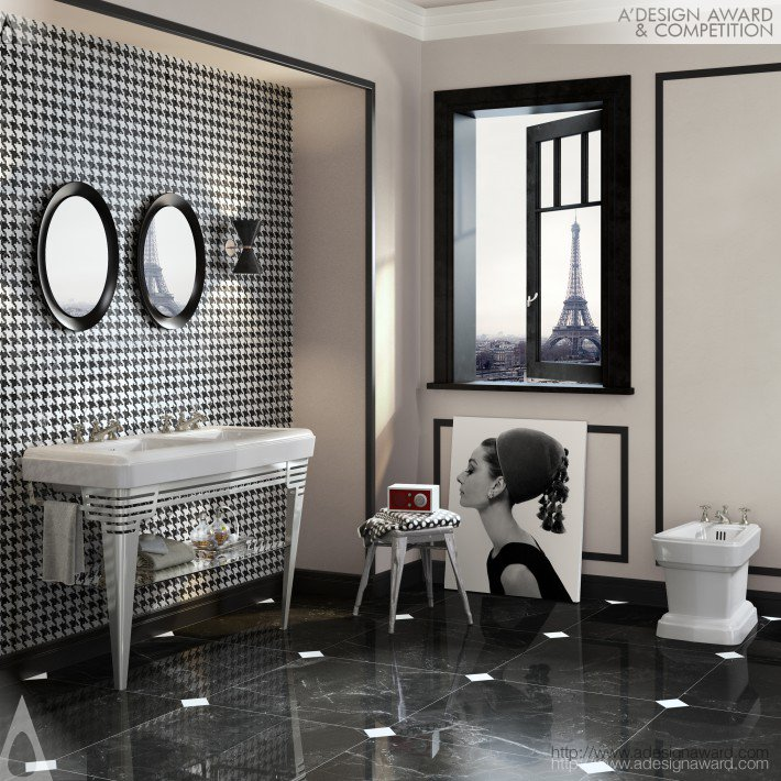So Fifties (Bathroom Collection Design)