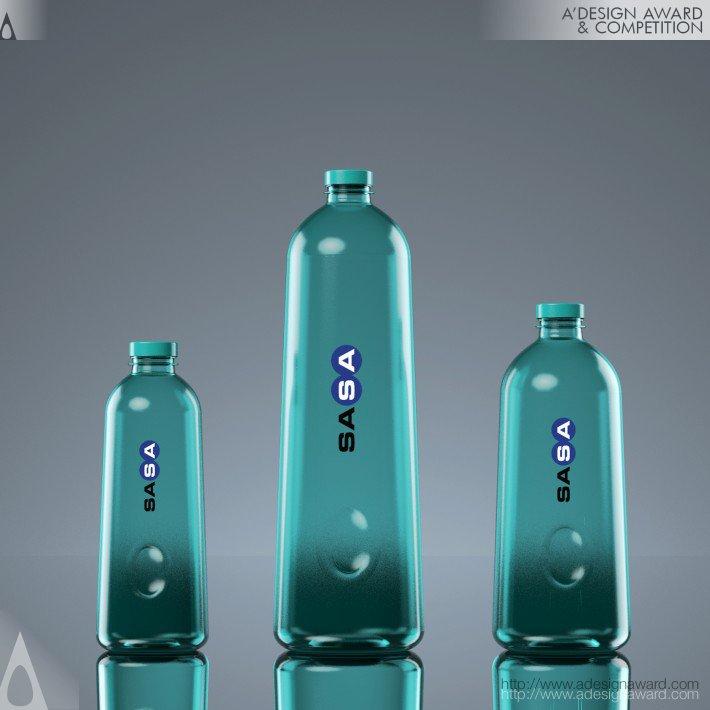 Sasa Bottle (Water Packaging Design)