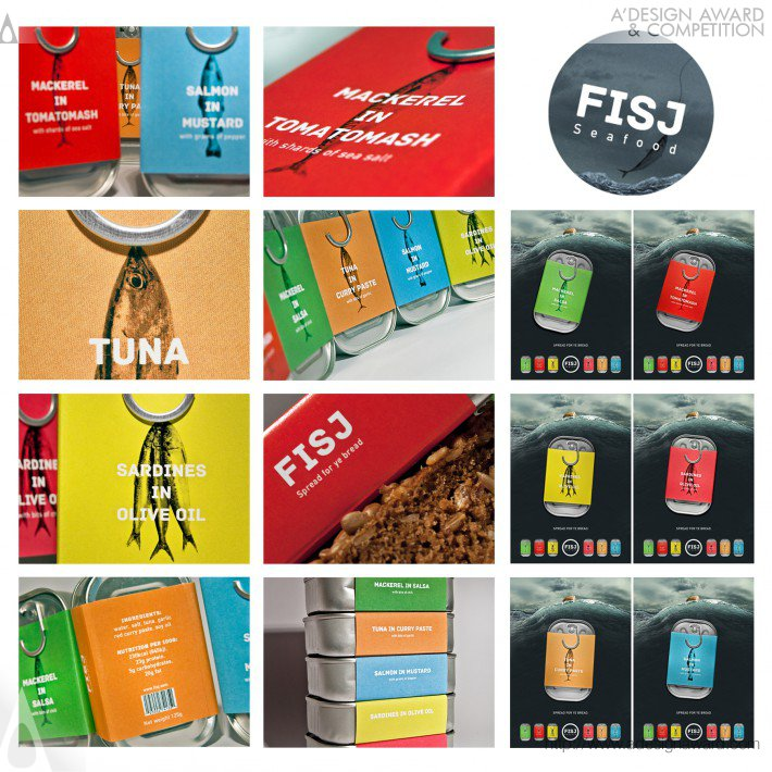 Fisj (Canned Fish Packaging Concept Design)