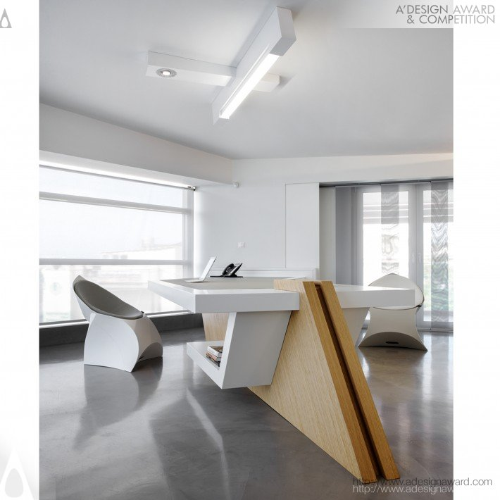 Conceptual Minimalism (Office Small Scale Design)