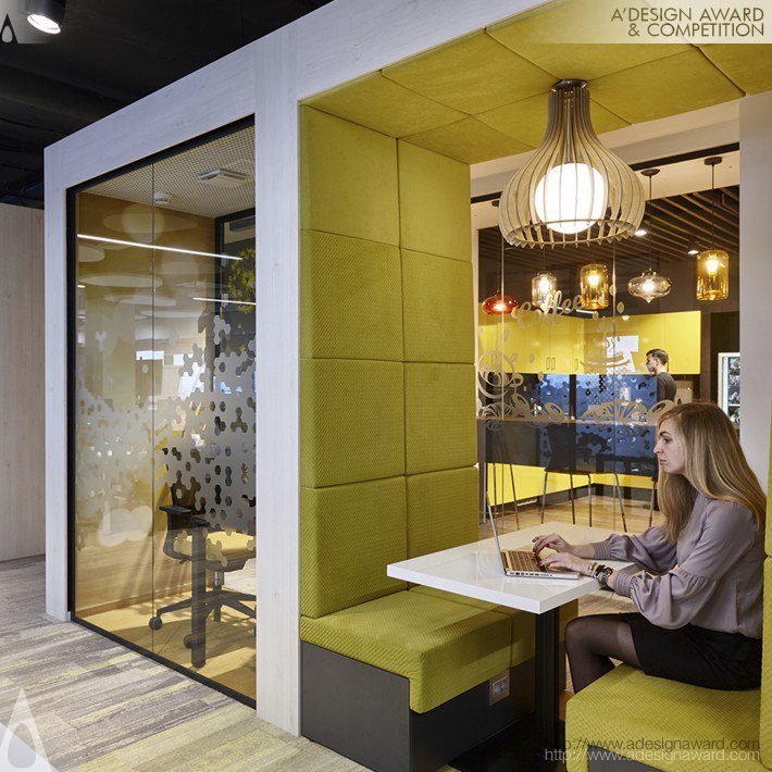 Evolution Design - Sberbank Office Design