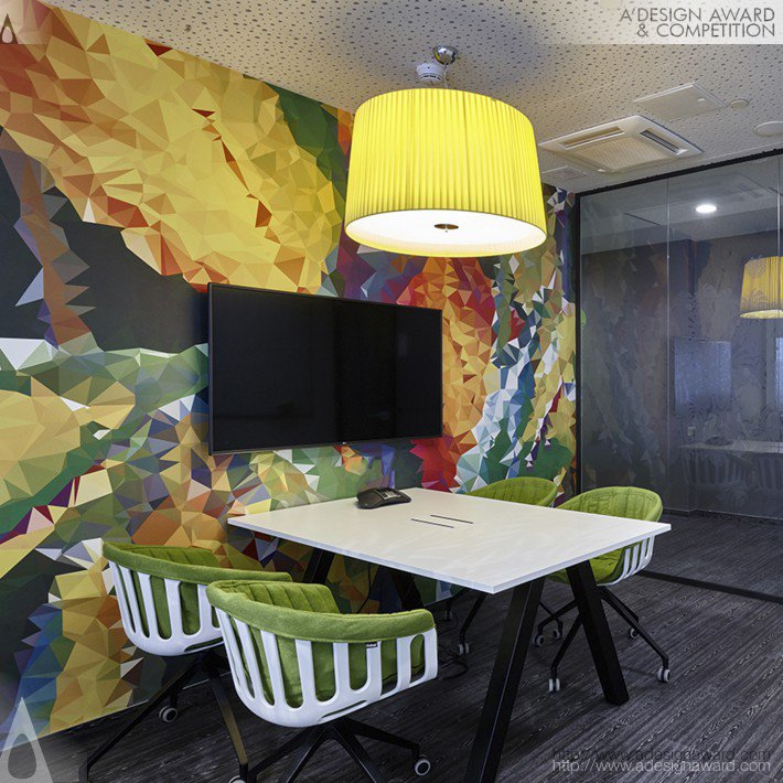 Office Design by Evolution Design