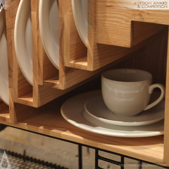 Baan (Dinner Set Cupboard Design)