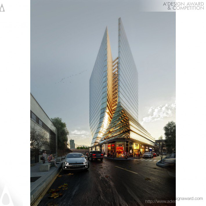 Ekhtiyarieh Tower (Commercial-Residential Design)