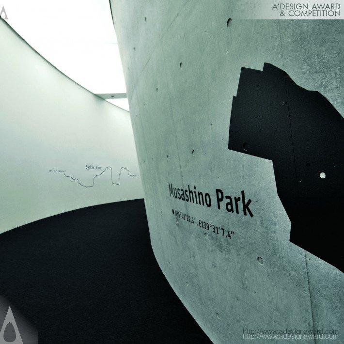 """the Koganei"" Koganei Civic Center (Environmental Graphic Design Design)"