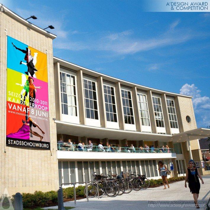 Utrecht City Theatre (Corporate Identity Design)
