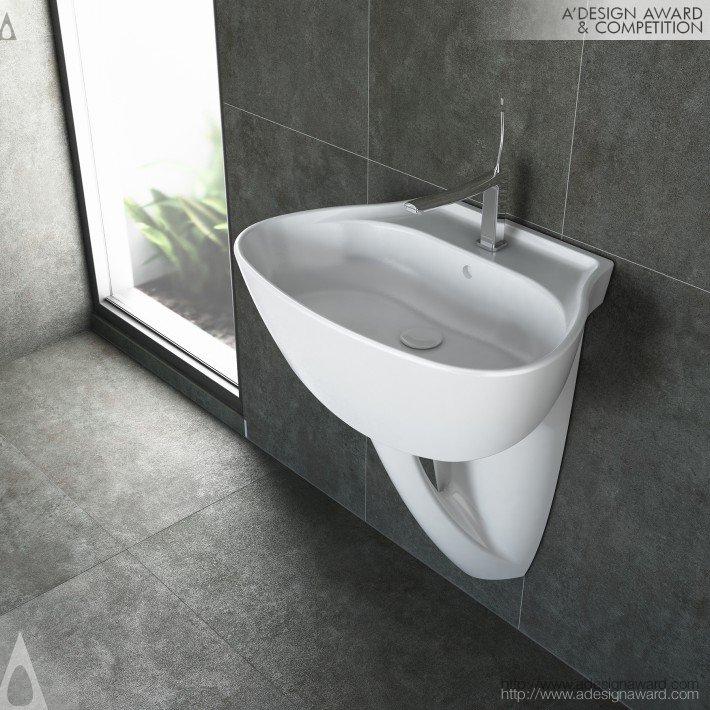 Organic Design Set (Ceramic Sanitaryware Set Design)