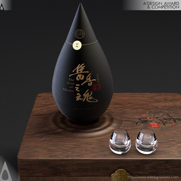 "li zuo - The Soul of Maotai-Flavour ""wu"" Packaging Design"