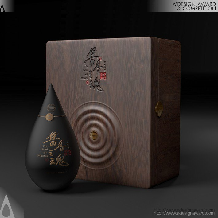 "The Soul of Maotai-Flavour ""wu"" Packaging Design by li zuo"