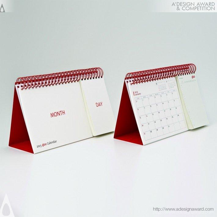 "2013 Goo Calendar ""month & Day"" (Calendar Design)"