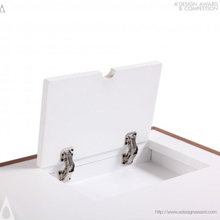 Marken Desk (Home Desk Furniture Design)