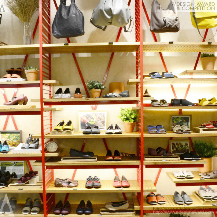 Juliana Neves - Kube Arquitetura - Outer. Shoes Shoe Store