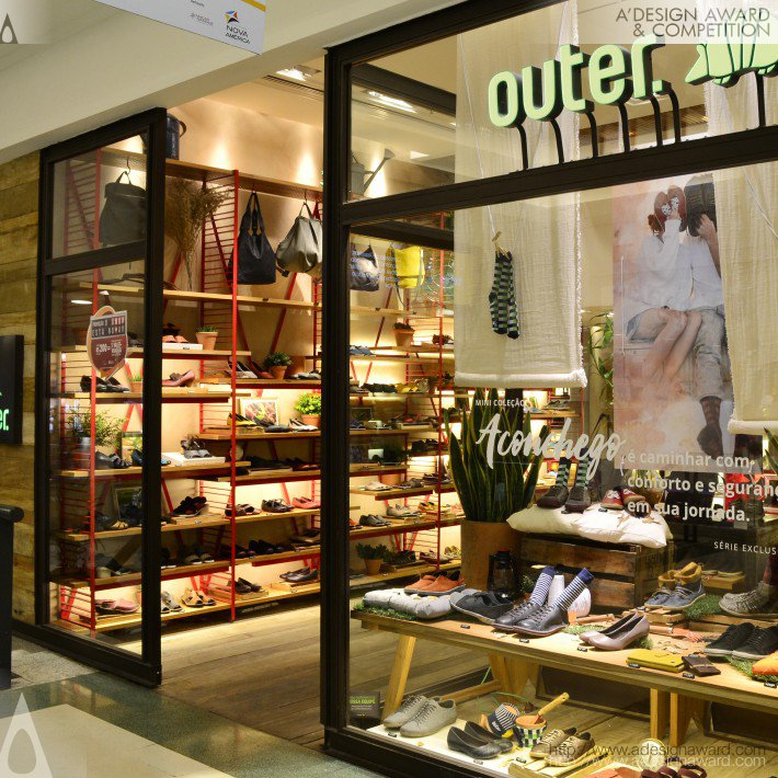 Outer. Shoes Shoe Store by Juliana Neves - Kube Arquitetura
